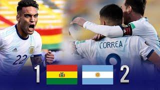 Bolivia vs Argentina [1-2]   RESUMEN y GOLES   Fecha 2   Eliminatorias 2020