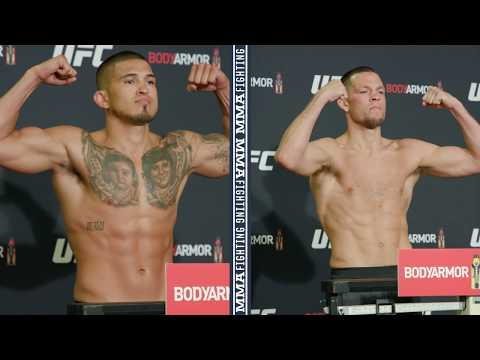 UFC 241 Weigh-Ins: