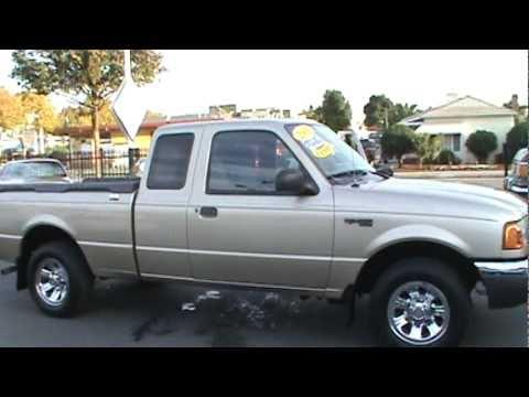 2001 Ford Ranger Super Cab Pickup 2d