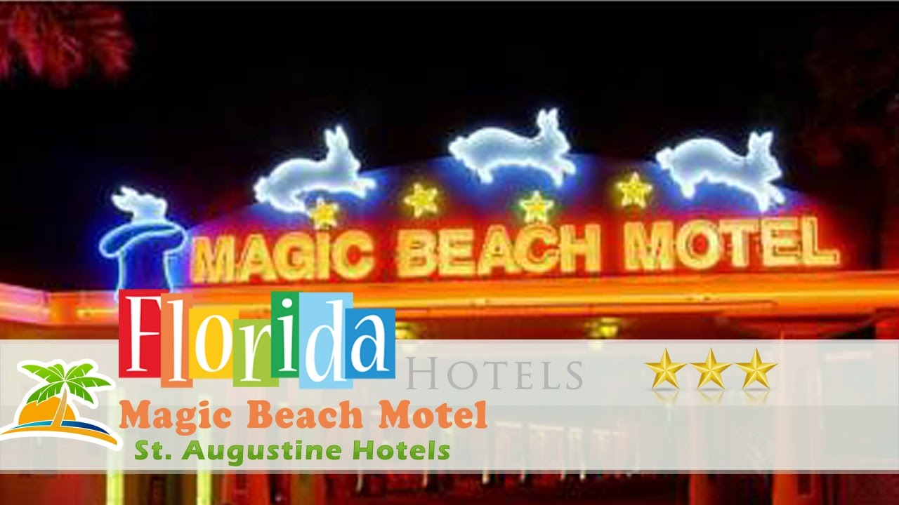 Magic Beach Motel Saint Augustine St Hotels Florida