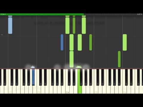 Cashmere Cat - Quit ft Ariana Grande - Piano Tutorial