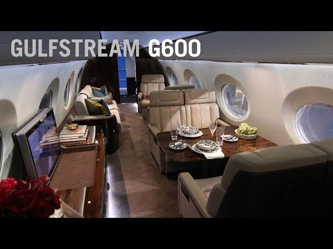 Gulfstream Unveils a Redesigned G600 Business Jet Cabin Interior – AINtv