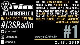 J3SRadio #1 2018-19 Frosinone-Juventus (puntata del 25/09/2018)
