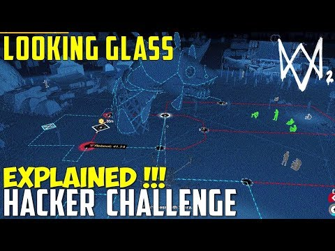 How to complete the Hacker Challenge | Looking Glass | Watch Dogs 2