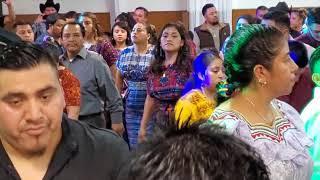 Marimba Sonal Ko konob U S A Presentación oficial en los angeles calif..12/14/19