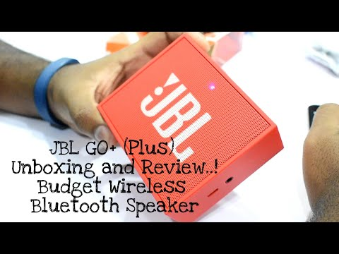 JBL Go+ (Plus) 🎶 | Unboxing & Review | Budget Wireless Bluetooth Speaker | Exclusive