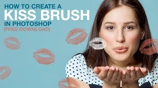 How to Create a Kiss Brush in Photoshop (Free Download)
