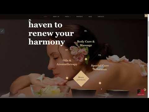 Beauty Salon Responsive Joomla Template TMT | Free Template  Aaron Ju