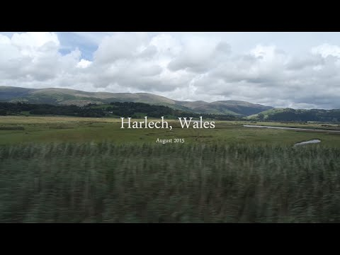 Exploring North Wales: Harlech, Criccieth and Barmouth HD Video Montage