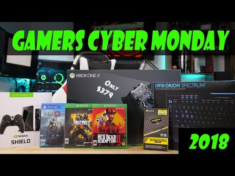 Top 10 Crazy Good Cyber Monday Deals for Gamers!!!