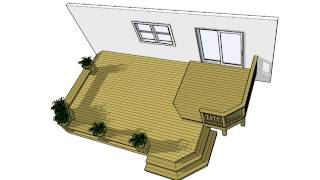 DECK PLANS 2LF1612 Free 200 SF Plan Download It Now