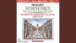 Symphony in D Major (incorporating K. 196 and 121) : II. Andantino grazioso