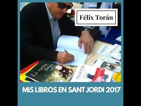 Mis libros te esperan en Barcelona el día de Sant Jordi 2017