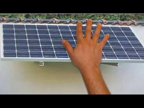 200 Watt Camping Solaranlage, 12Volt SET mit Spannungswandler für Garten Camping