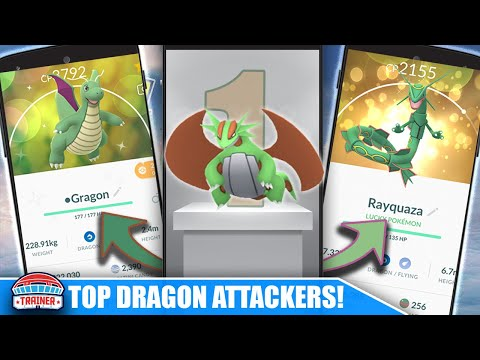 IS OUTRAGE SALAMENCE WORTH POWERING UP? TOP DRAGON ATTACKERS TO USE STARDUST ON | POKEMON GO thumbnail