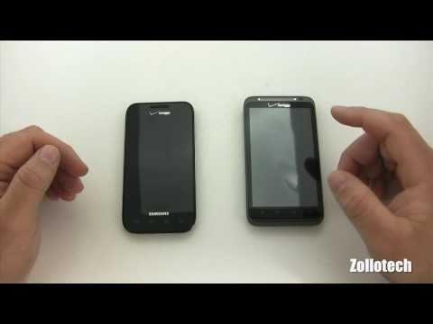 Samsung Fascinate vs HTC Thunderbolt Camera Comparison