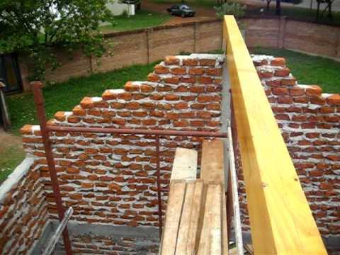 Techo de madera marcia ii youtube for Como encielar un techo