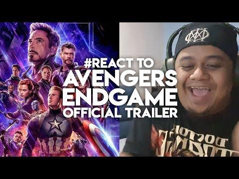 #React to AVENGERS ENDGAME Official Trailer Malaysia Reaction