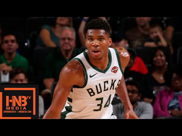 Milwaukee Bucks vs Chicago Bulls Full Game Highlights | 03.10.2018, NBA Preseason