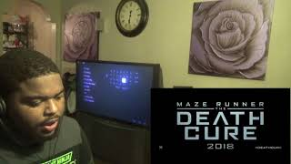 Maze Runner: The Death Cure | Official Trailer Reaction