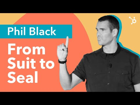 """INBOUND Bold Talks: Phil Black """"From Suit to Seal"""""""