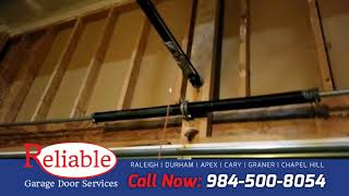 Wayne Dalton broken spring garage door repair