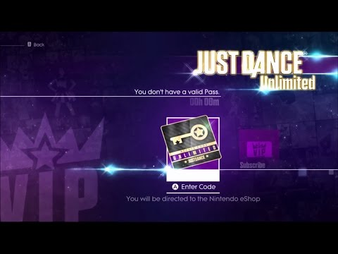 Just Dance 2016 – How to access Just Dance Unlimited ? [Wii U]
