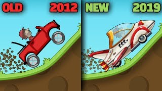 Gambar cover Hill Climb Racing FROM 2012 JEEP TO 2019 ROCKET