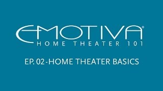 Emotiva's Home Theater 101 Ser…
