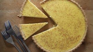 Egg Custard Tart - The Boy Who Bakes