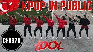 [KPOP IN PUBLIC TURKEY/ISTANBUL] BTS (방탄소년단) 'IDOL' Dance Cover by CHOS7N