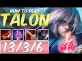 HOW TO PLAY TALON SEASON 10 | BEST Build & Runes | Season 10 Talon guide | League of Legends