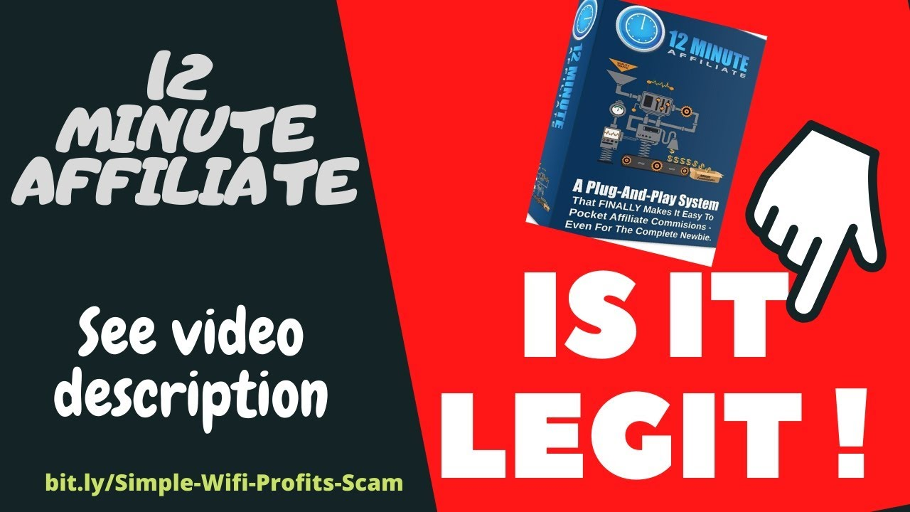 12 Minute Affiliate System Bonuses  12 Minute Affiliate Review 2020   458 28 Day Earned   Bonuses