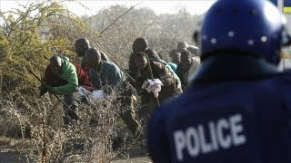 Police Open Fire on South African Miners