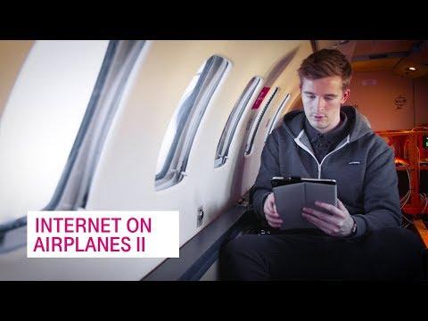 A fast internet connection on airplanes - Netzgeschichten