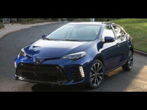 2018 Toyota Corolla Canada Release Date