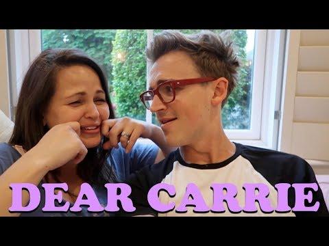 We're so close!  DEAR CARRIE