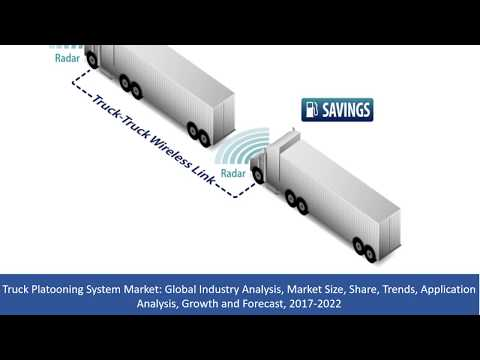 Truck Platooning System Market Analysis, Market Size, Share, Growth and Forecast, 2017 To 2022