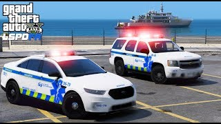 GTA 5 LSPDFR EMS #28   Brand New Los Santos EMS Supervisor Vehicles