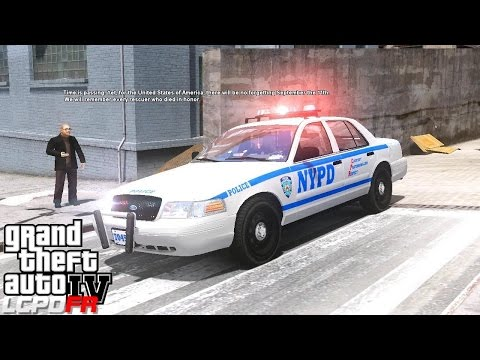 GTA 4 LCPDFR Police Mod Day 8 | NYPD Tribute Patrol | Major Traffic Jam On The West Side Highway