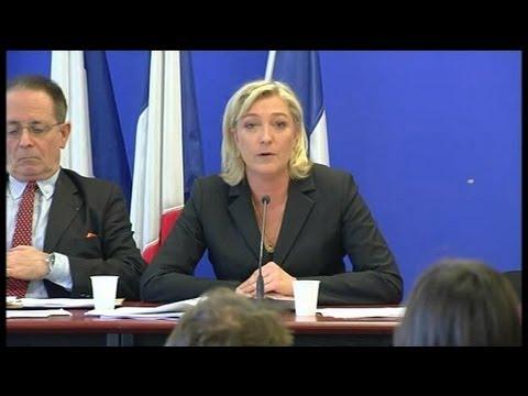 Marine Le Pen chiffre son projet présidentiel