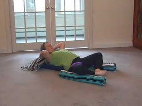 therapeutic yoga and resting butterfly pose  youtube