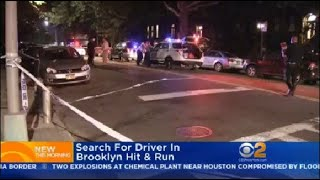Search For Driver In Brooklyn Hit & Run