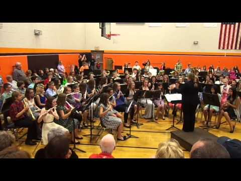 Warriors of Beijing Sandwich Middle School Fall Concert