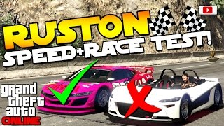 GTA 5 Online - 🔥🏁Hijak Ruston Speed + Race Test!🏁🔥[VS. Massacro, Jester, Feltzer, Elegy etc.]