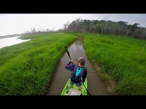 April Fools' Day Kayak Bowfishing