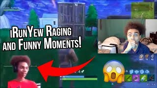Reacting to iRunYew Raging & Funny Moments... a year ago