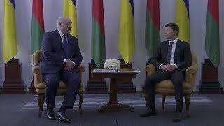 Зеленский и Лукашенко говорят на одном языке: русско-украинском