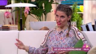 Fábián Juli Győrfi Pálról: ˝Nálunk nagyon jó fajta kémia van˝ - tv2.hu/fem3cafe