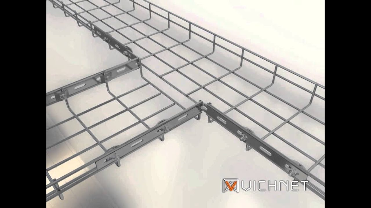 Vichnet Cable Tray Cable Basket Tray Wire Mesh Cable